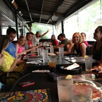 Photo taken at Mellow Mushroom by Katie E. on 5/9/2012