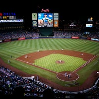 Photo taken at Turner Field by Mark on 8/27/2012