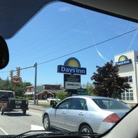 Photo taken at Days Inn Airport/Maine Mall by Dan Q. on 6/17/2012