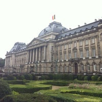 Photo taken at Paleizenplein / Place des Palais by Dan L. on 9/11/2012