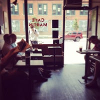 Photo taken at Café Martin by Kirstie J. on 8/18/2012