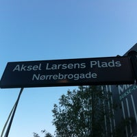 Photo taken at Aksel Larsens Plads by Louise H. on 6/22/2012