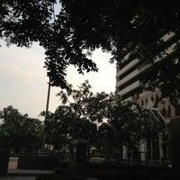 Photo taken at Bangkok University by Babiie W. on 4/23/2012