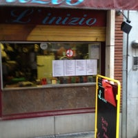 Photo taken at Pastabar L'Inizio by Thomas on 6/7/2012