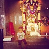 Photo taken at Fremont Hindu Temple by Govind K. on 7/29/2012