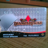 Photo taken at Diamond Jack's Casino and Resort by Terani Tae E. on 8/19/2012