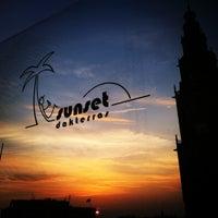 Photo taken at Sunset Dakterras by Leonie W. on 5/20/2012