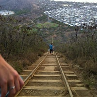 Photo taken at Koko Head Crater Trail by Chris on 8/9/2012