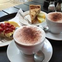 Photo taken at Den Franske Café by Shurick D. on 7/31/2012