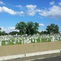 Photo taken at Holy Sepulchre Cemetery by Jig's on 8/18/2012