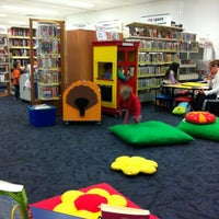 Photo taken at Redbank Plaza Library by Jecy R. on 5/9/2012