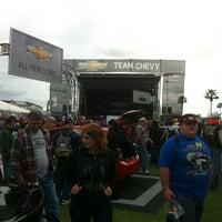 Photo taken at Team Chevy @ Daytona 500 by Gary D. on 2/26/2012