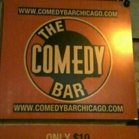 Photo taken at The Comedy Bar by Eddie J. on 8/11/2012