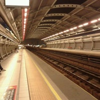 Photo taken at Metro Rojas Magallanes by Consuelo Francisca T. on 5/10/2012