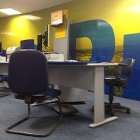 Photo taken at Banco do Brasil by Robson B. on 4/30/2012