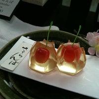 Photo taken at Minamoto Kitchoan by Suki S. on 4/14/2012