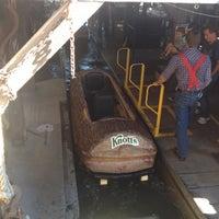 Photo taken at Timber Mountain Log Ride by Debra L. on 7/28/2012