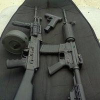 Photo taken at Finger Lakes Shooting Range by Ian H. on 9/7/2012