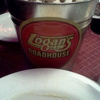 Photo taken at Logan's Roadhouse by Tazzette B. on 8/1/2012