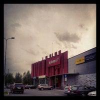 Photo taken at Rimi Hipermārkets [Stirnu] by Юрий Ж. on 8/3/2012
