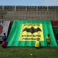 Photo taken at Stadion Kota Batik by M. Arief W. on 6/9/2012