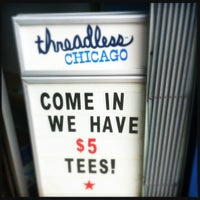Photo taken at Threadless Store by Joe M. on 5/30/2012