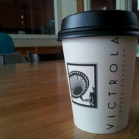 Photo taken at Victrola Cafe and Roastery by Kristy K. on 4/26/2012