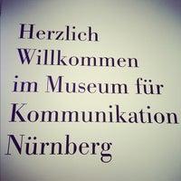 Photo taken at Museum für Kommunikation by Rhinover on 5/7/2012