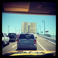 Photo taken at Johns Pass Bridge by Melvyn B. on 5/20/2012