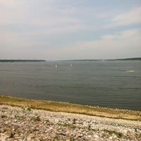 Photo taken at Saylorville Dam by Meredith C. on 6/30/2012