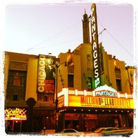 Photo taken at Pantages Theatre by Patrick R. on 7/2/2012