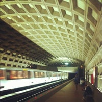 Photo taken at Farragut West Metro Station by Cosmo C. on 7/29/2012