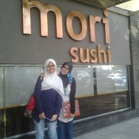 Photo taken at Mori Sushi by Azza Z. on 3/19/2012