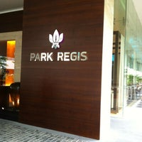Photo taken at Park Regis Hotel by Jungho S. on 3/8/2012