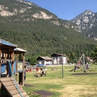 Photo taken at Ziano di Fiemme by Riccardo A. on 8/23/2012