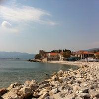 Photo taken at Port of Pythagoreio Harbor by Nikos K. on 3/26/2012
