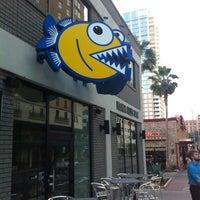 Photo taken at Piranha Killer Sushi by Nick G. on 4/11/2012