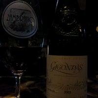 Photo taken at Zambrano Wine Cellar by Mark F. on 3/22/2012