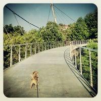 Photo taken at Liberty Bridge by Tiffany A. on 6/19/2012