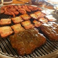 Photo taken at 온누리장작구이 by hee sook Y. on 5/23/2012