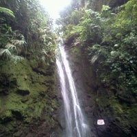 Photo taken at Air terjun cicurug by Puttu W. on 4/6/2012