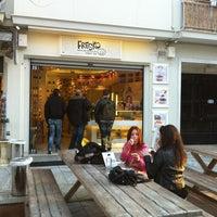Photo taken at Fresko Yogurt Bar by Josef D. on 3/14/2012