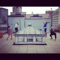 Photo taken at The Barbarian Group: Roof Deck by Kevin C. on 7/27/2012