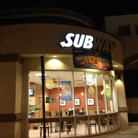 Photo taken at SUBWAY by Craig Y. on 2/10/2012