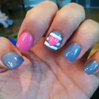 Photo taken at Kelly's Nails by Coco L. on 3/24/2012
