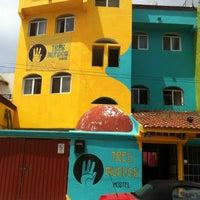 Photo taken at Hostel Tres Mundos by Alejandro D. on 7/16/2012