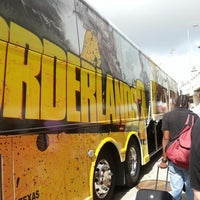 Photo taken at Borderlands Bus by Kate P. on 8/26/2012