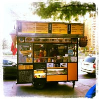 Photo taken at Wafels & Dinges - Herald Square by Brian S. on 8/31/2012
