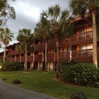 Photo taken at Disney's Polynesian Village Resort by Sayaka M. on 4/19/2012