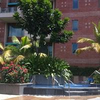 Photo taken at Pool @ ITC Royal Gardenia by Danielle A. on 7/5/2012